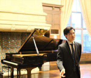 2020年4月 ピアニスト上原琢矢氏が学藝顧問に就任