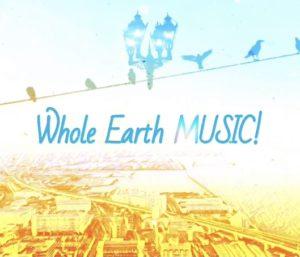 ラジオを通じて 2021 Whole Earth Music for SDGs
