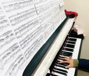 コンクールにてホルンの伴奏に挑戦!